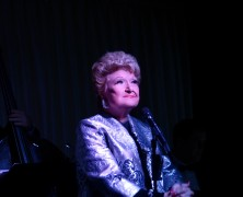 Marilyn Maye Opens Dino's Backstage