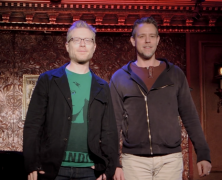 Adam Pascal & Anthony Rapp Still Celebrating
