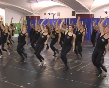 Rockettes Kick Off Rehearsals