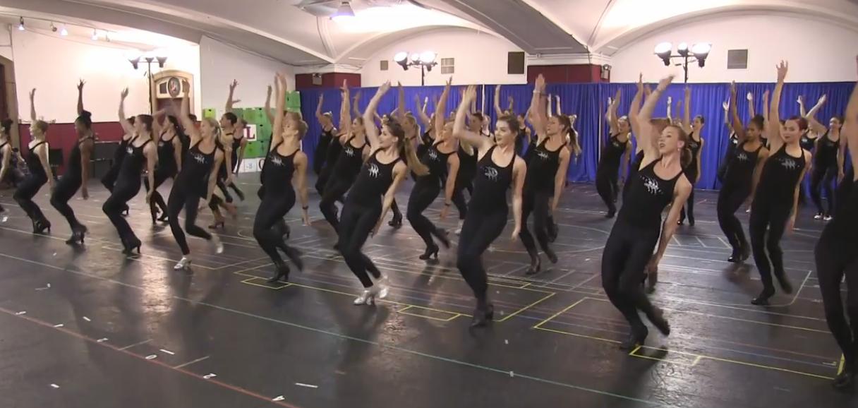 Rockettes Kick Off Rehearsals
