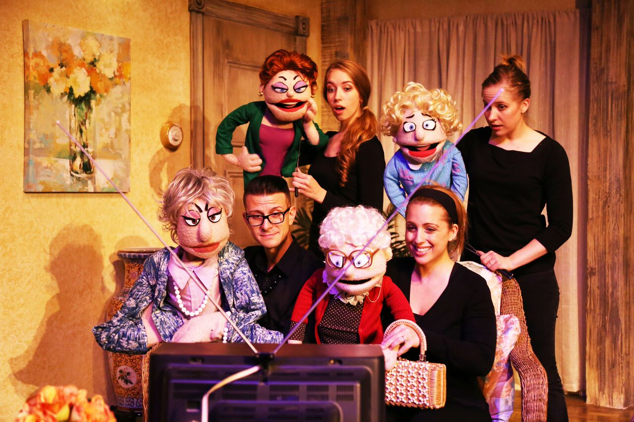 That Golden Girls Show Transformed by . . . Puppets!