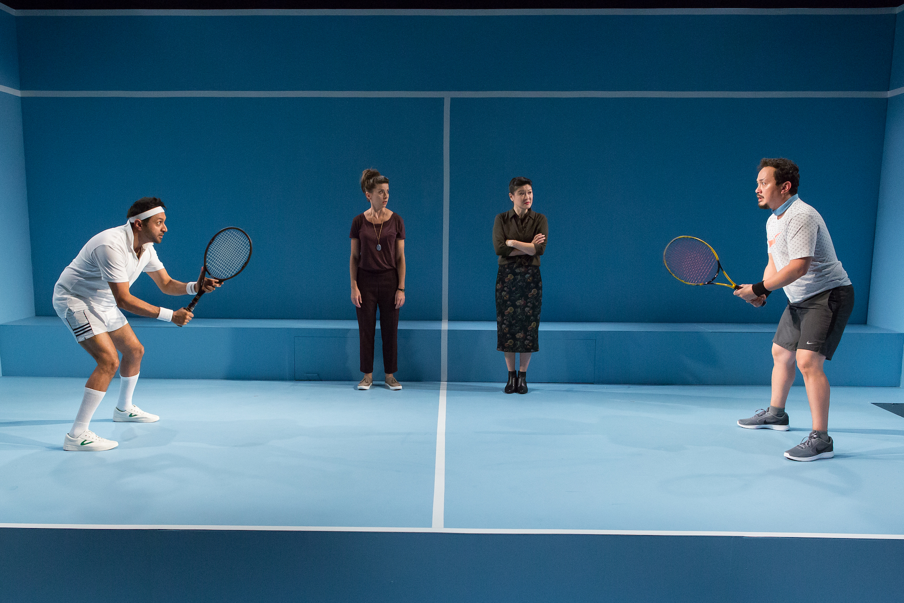 Don't You F**king Say a Word – Tennis Anyone?