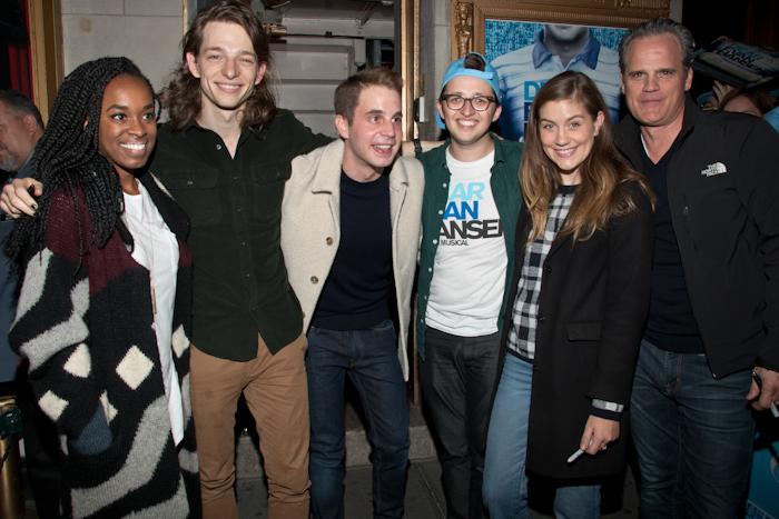 Dear Evan Hansen Previews Open on Broadway – Photos