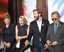 Jake Gyllenhaal & Annaleigh Ashford Cut the Ribbon at Hudson Theatre