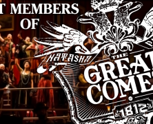 Cast Members of The Great Comet play 54 Below