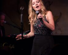 Jackie Evancho at Café Carlyle