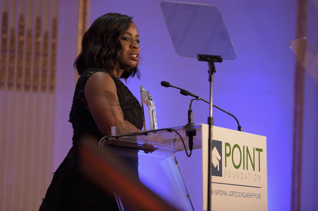 Uzo Aduba, Dustin Lance Black,Thomas Roberts Honored at Point Honors Gala