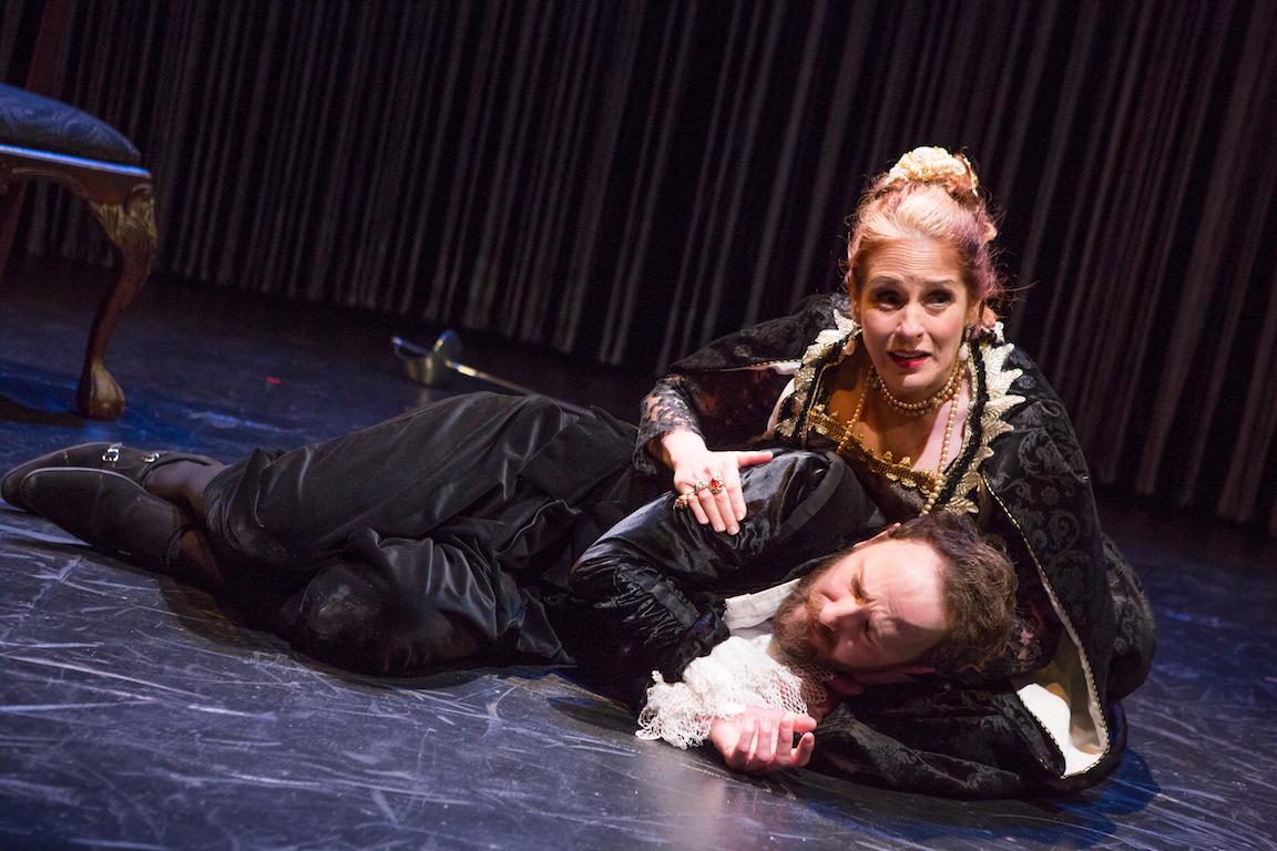 Aspersions: Hamlet. A Version