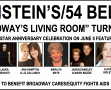 Feinstein's/54Below To Celebrate 5 Years June 5