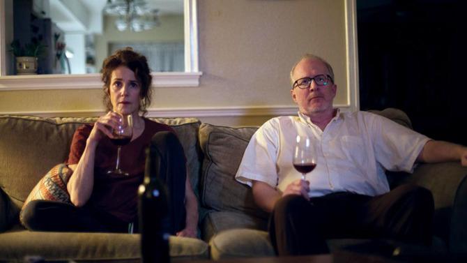 Debra Winger,Tracy Letts Shine -Tribeca Film Festival Red Carpet