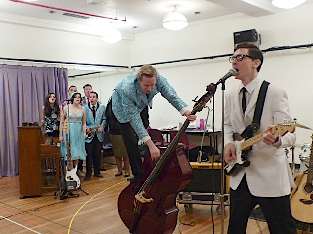 Buddy Holly Story Meets the Press