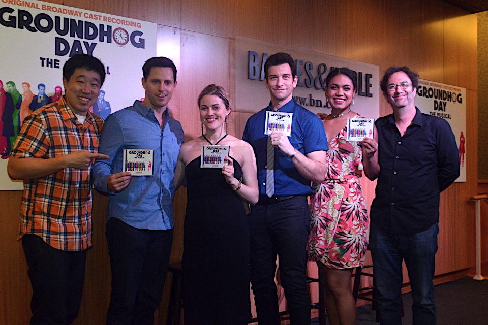 Groundhog Day CD Signing at B&N