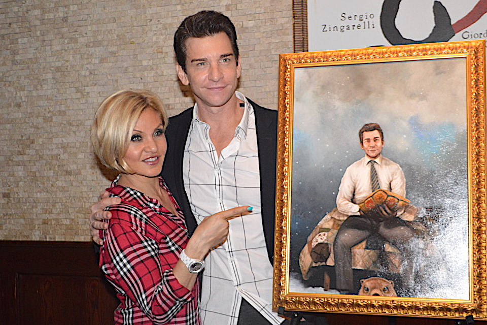 Andy Karl Portrait Newest Addition to Tony's Broadway Wall of Fame