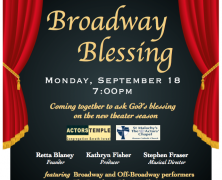 Broadway Blessing – 20 Year Tradition