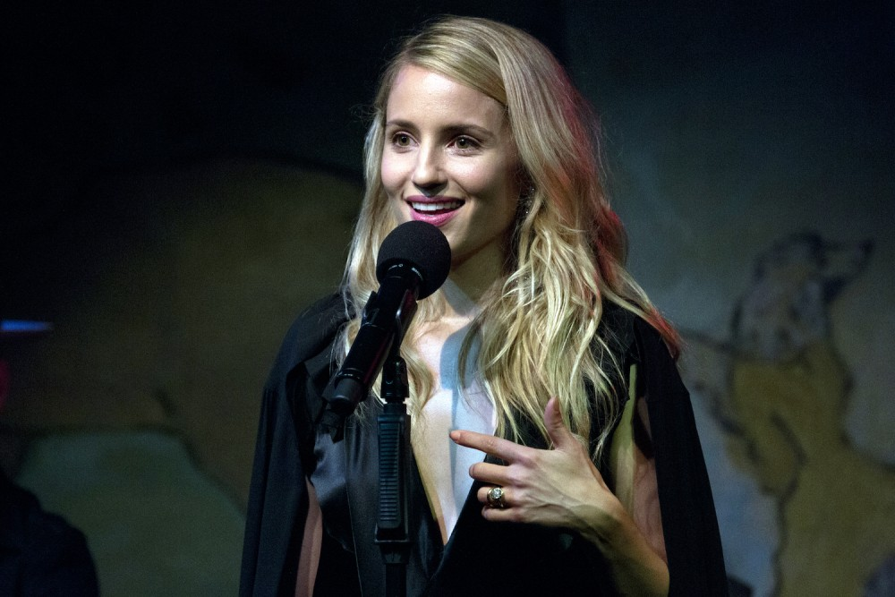 Dianna Agron at Cafe Carlyle