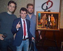 The Play That Goes Wrong Honored at Tony's with Portrait