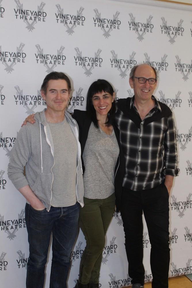Meet Billy Crudup, Leigh Silverman, David Cale 'Harry Clarke'