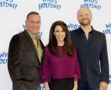 Lesli Margherita and Who's Holiday! Meets the Press