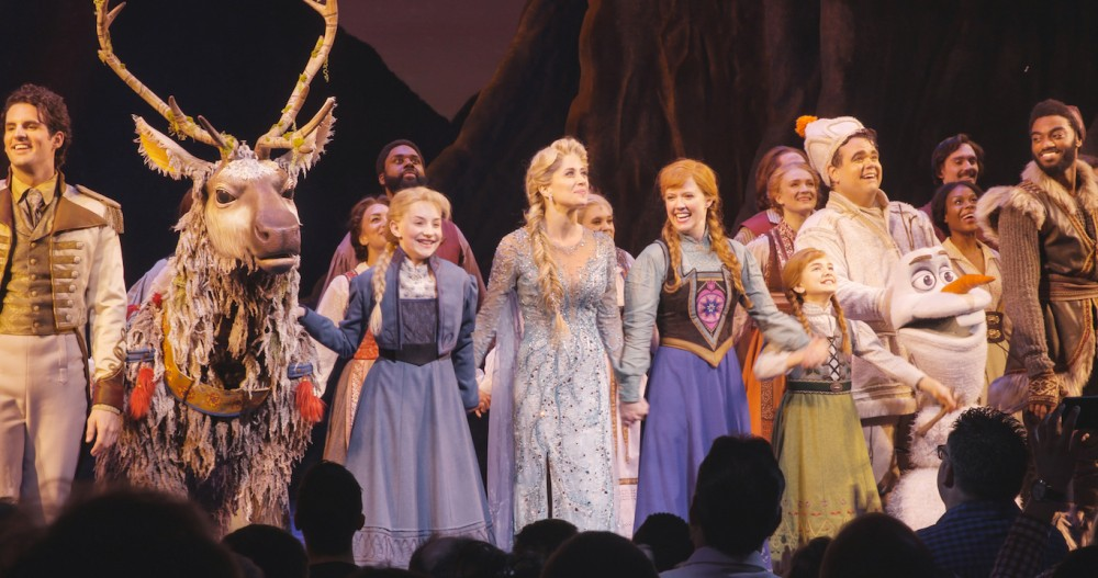 Frozen on Broadway – First Preview