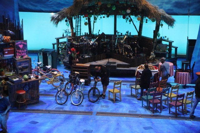 Escape to Margaritaville Cast and Creatives Meet the Press