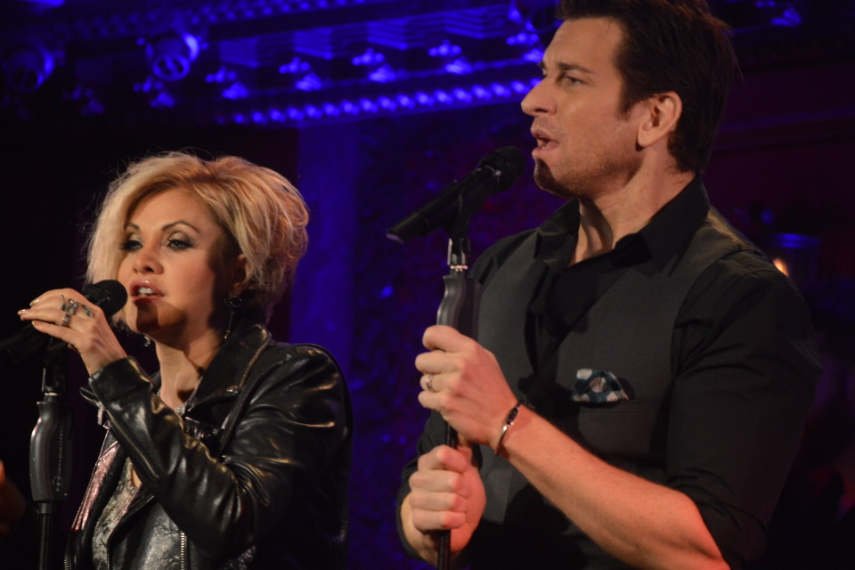 Orfeh and Andy Karl at 54 Below