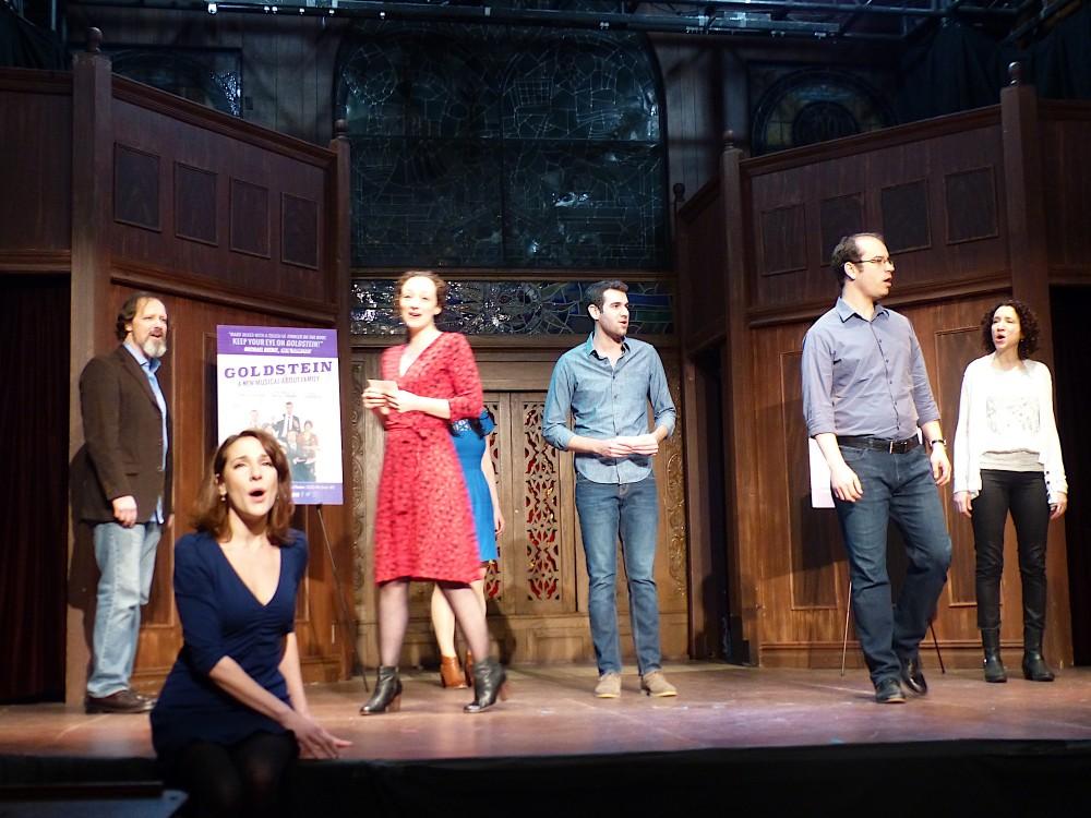 Goldstein – Press Previews The Actors Temple