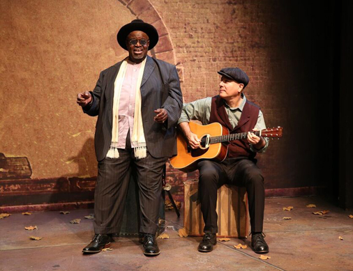 Lonesome Blues- Akin Babatundé is Outstanding