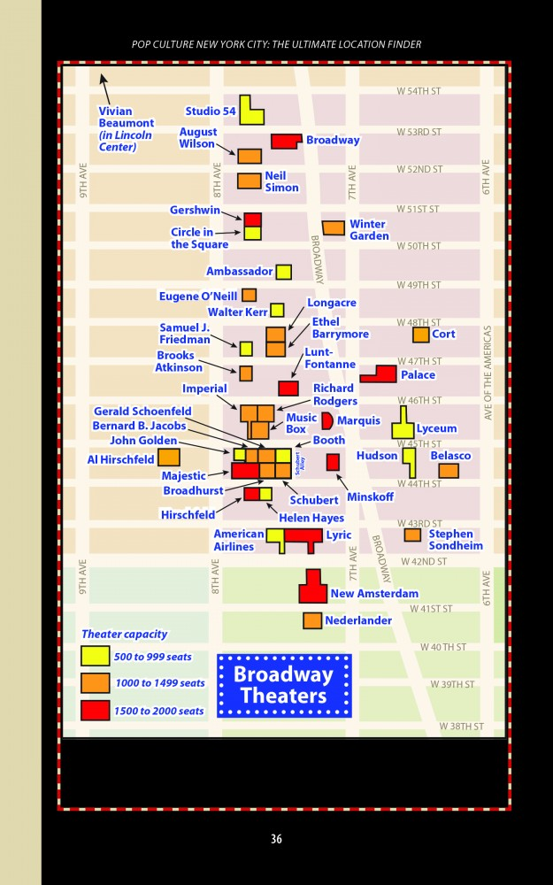 Pop Culture NYC – Find Maps, Theaters and More!