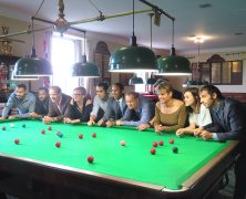 Snooker! Meet the Cast and Playwright of MTC's 'The Nap'