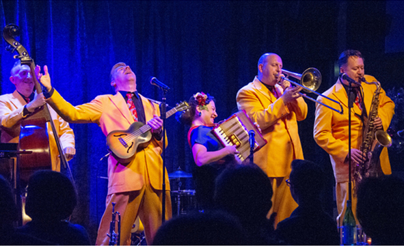The Jive Aces – A Flat-Out, No-Holds-Barred Good Time