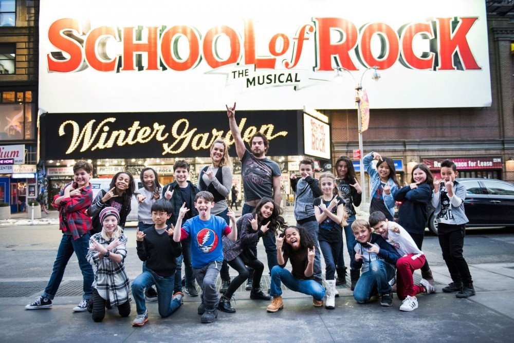 """Talking With """"School of Rock's"""" Young Flock"""