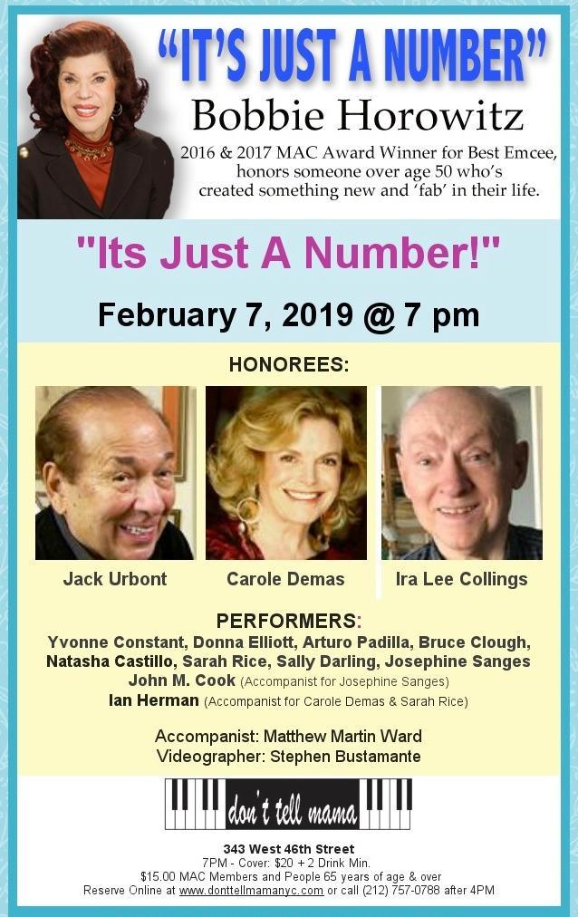 Bobbie Horowitz – at it Again on February 7th