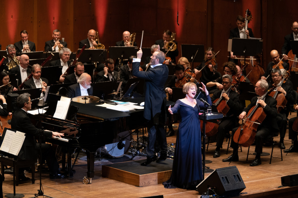 Patti LuPone with the New York Philharmonic