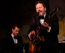 John Pizzarelli at the Café Carlyle