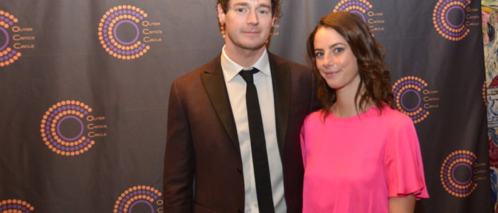 Benjamin Walker & Wife