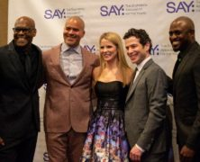 SAY Gala Hosted by Kelli O'Hara Honors Thomas Kail
