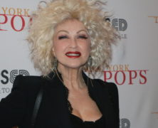 "New York Pops' 36th Birthday Gala Celebration Honoree, Cyndi Lauper, Helps to ""Raise Us Up"""