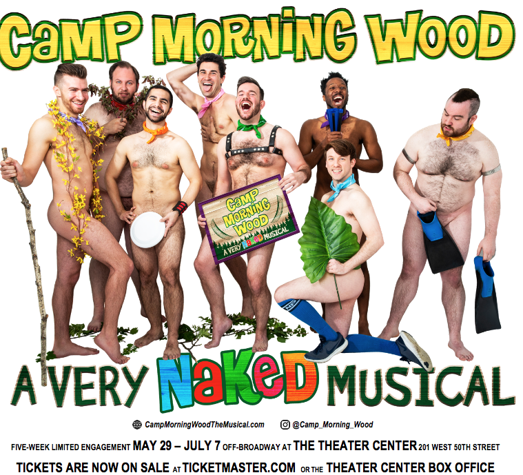 Pitch a Tent at 'Camp Morning Wood'