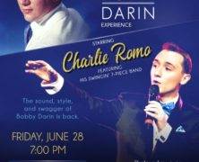 Charlie Romo Returns with the Ultimate Bobby Darin Experience