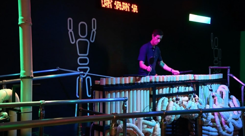 Making Music: Blue Man Group PVC Pipes at Museum of the City of New York