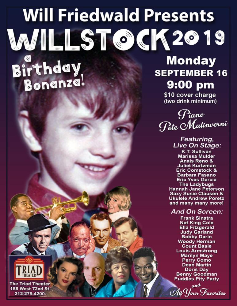 It's Will Friedwald's Birthday – Come Celebrate WILLSTOCK!