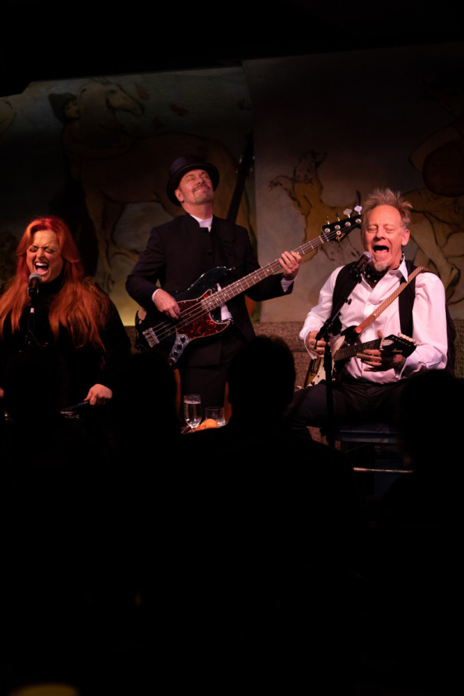 Wynonna Judd and Cactus Moser Debut at Café Carlyle