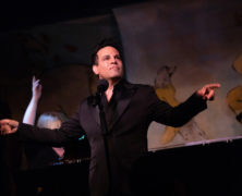 Mario Cantone at the Café Carlyle