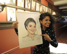 Rebecca Naomi Jones Joins Sardi's Legendary Wall of Caricatures