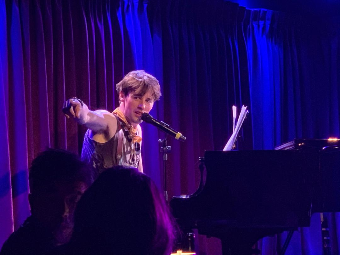 Reeve Carney at The Green Room 42