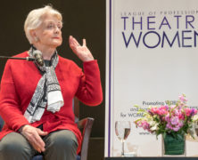 Angela Lansbury at the Bruno Walter Auditorium
