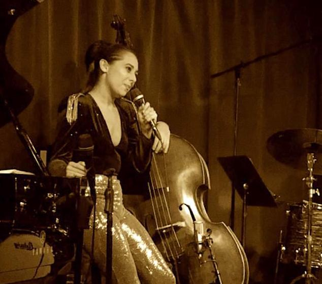 Veronica Swift with the Emmet Cohen Trio at Birdland