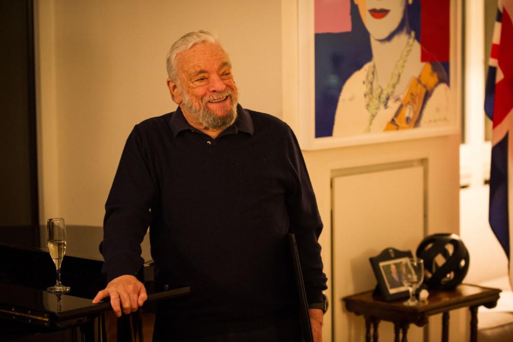 Stephen Sondheim Receives RADA Honorary Fellowship