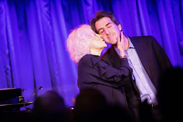 JASON ROBERT BROWN WITH BETTY BUCKLEY AT SUBCULTURE