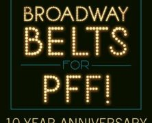 Broadway Belts for Pulmonary Fibrosis Foundation (PFF)